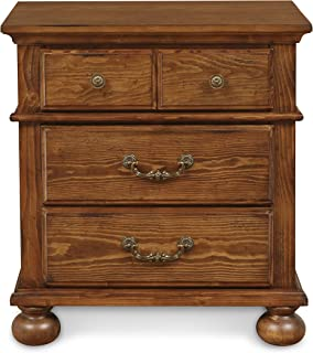 New Classic Furniture Cumberland Bedroom Nightstand, Antique Pine