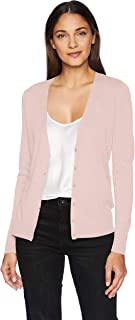 Amazon Essentials Women's Lightweight Vee Cardigan Sweater
