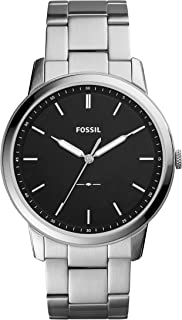 Men's The Minimalist Quartz Stainless Steel Dress Watch, Color: Silver-Tone (Model: FS5307)