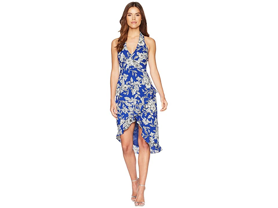 Bardot Petra Floral Dress (Cobalt Floral) Women