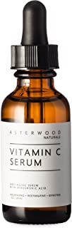 Vitamin C 1 oz Serum with Organic Hyaluronic Acid, Diminish Sun Spots, Anti Aging, Anti Wrinkle, Oxygen Stable and PH Bala...