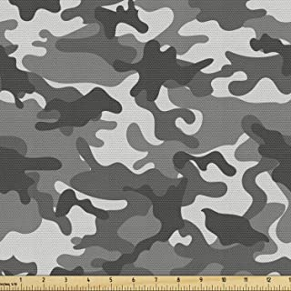 Camouflage Fabric 45 wide 100/% Cotton Oak Camo Fabric