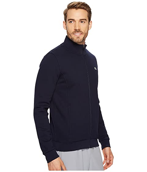 Fleece Sport Sweatshirt Full Lacoste Zip Yfq6wOft