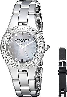 Women's BMMOA10072 Linea Analog Display Quartz Silver Watch