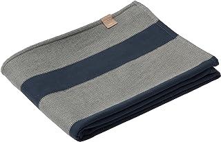 東京西川 インナーブランケット(毛布) ネイビー シングル 洗える かろやかフィット ウール 日本製 FQ08183014NV