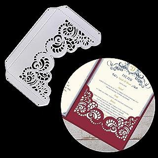 OOTSR Scrapbooking Dies de Decoupe, Matrices de Découpe pour Carte Invitation Enveloppe Décoration, DIY Gaufrage Pochoirs ...
