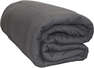 Yogibo CozyBo Luxury Bean Bag Blanket - Soft Cotton Spandex Blend meant to Keep Heat - Warm Winter Blanket - Super Comfy and Stretchy (Dark Gray)