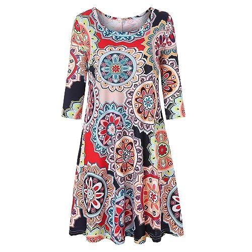 Polyester Plus Size House Dress: Amazon.com