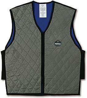 Ergodyne Chill-Its 6665 Evaporative Cooling Vest - Gray, Medium