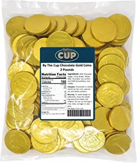 By The Cup Chocolate Gold Coins 2 lb Bulk Bag