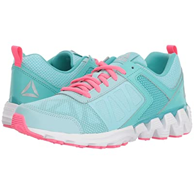 Reebok Kids Zigkick2K18 (Big Kid) (Blue Lagoon/Turquoise) Girls Shoes
