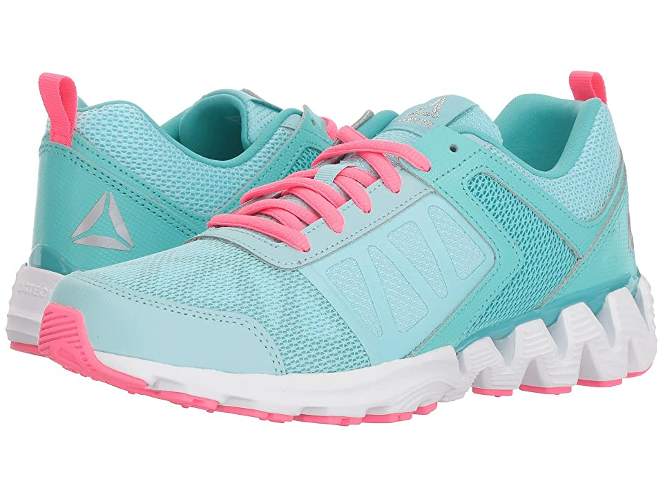 Reebok Kids Zigkick2K18 (Big Kid) (Blue Lagoon/Turquoise) Girls Shoes