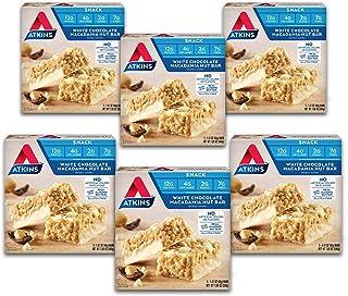 Atkins Snack Bar, White Chocolate Macadamia Nut (30 Bars)