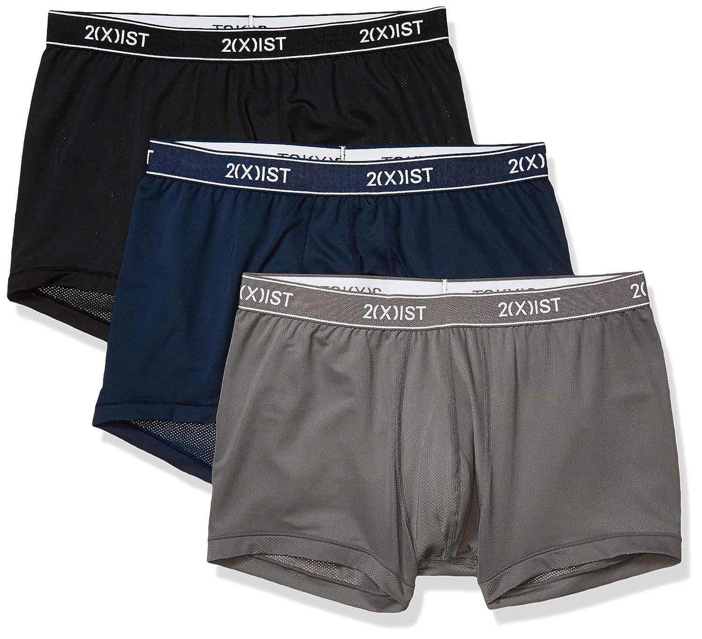 X IST No Show Micro Speed Dri Trunks Men/'s Underwear Size Medium M 2XIST 2