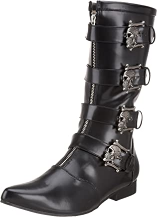 Demonia Brogue-107, Men's Cowboy Boots