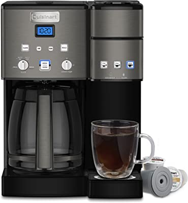 Cuisinart SS-15BKS Coffee Center Maker, 12-Cup, Black,SS-15BKSP1