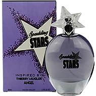 Sparkling Stars Women's Perfume - 2.7 Fl Oz/80 Ml - Inspired by Angel by Thierry Mugler Eau De...