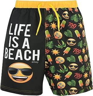 emoji Boys' Sun & Palm Trees Swim Shorts