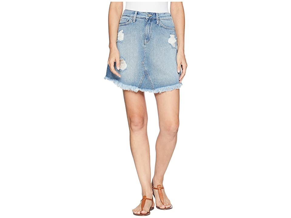 Mavi Jeans Sonia Skirt in Light Ripped Vintage (Light Ripped Vintage) Women