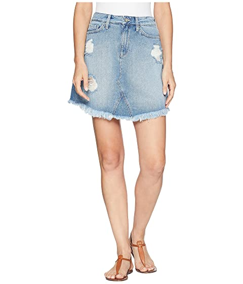 9309abb7d9 Mavi Jeans Sonia Skirt in Light Ripped Vintage at 6pm