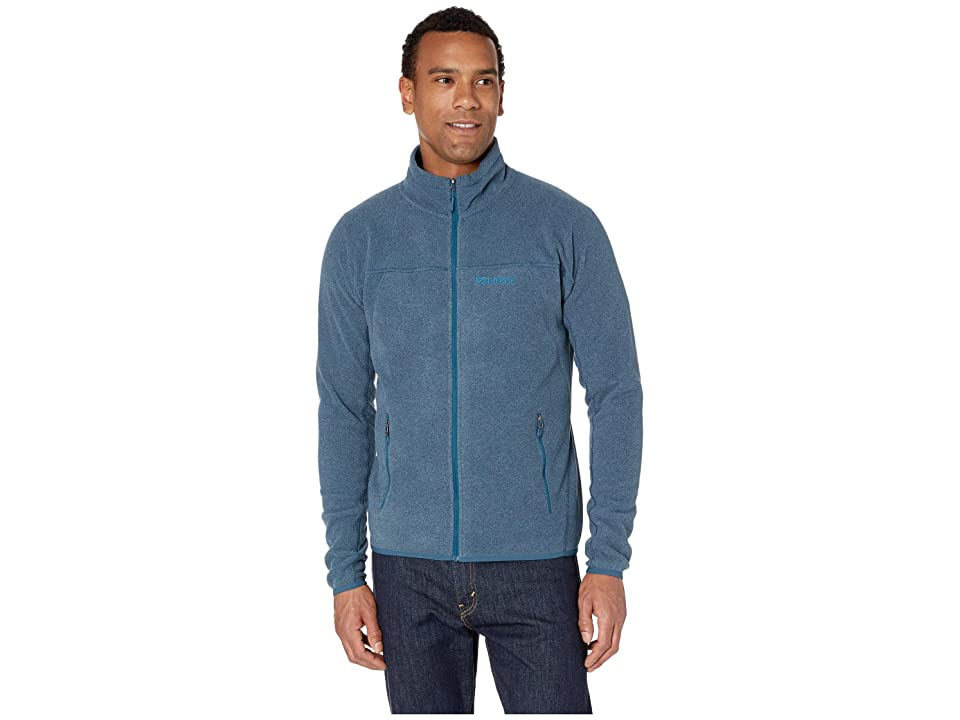 Marmot Pisgah Fleece Jacket (Denim) Men