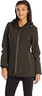 French Connection Women's Soft Shell with Detach Sweatshirt
