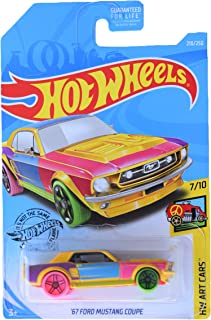Hot Wheels '67 Mustang Coupe 218/250, Multi Color