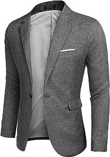 COOFANDY Leisure Jacket Men's Sporty Blazer Suit Jacket Modern Slim Fit Jacket for Men