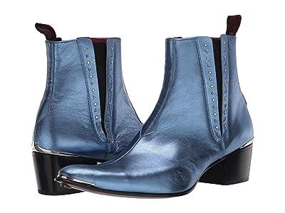 Jeffery-West Stud Glam Chelsea Boot Murphy (Blue) Men