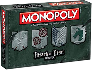 Monopoly: Attack on Titan Board Game