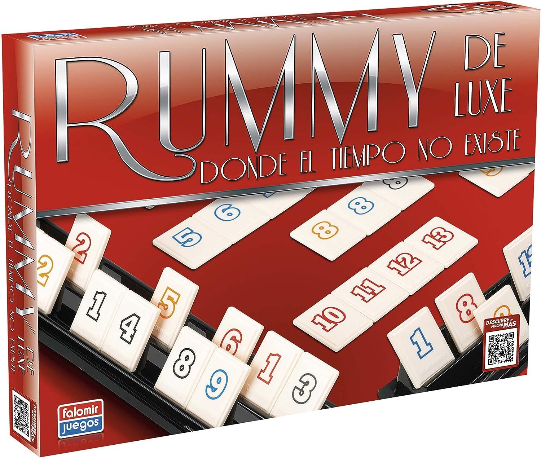RUMMY DE LUXE.(JUEGOS DE MESA)