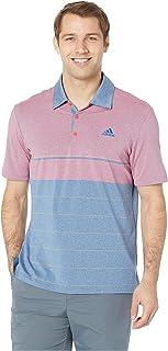 [adidas(アディダス)] メンズタンクトップ?Tシャツ Ultimate Heather Gradient Stripe Polo [並行輸入品]