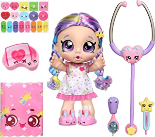 Kindi Kids Shiver 'N' Shake Rainbow Kate - Pre-School Play Doll - For Ages 3+ | Changeable Clothes and Removable Shoes - P...