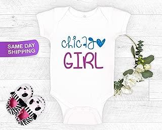 Chicago Girl, Onesie® Baby Bodysuit