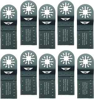 Sponsored Ad – 10 x 35mm TopsTools UN35F_10 Wood Cutting Blades Compatible with Bosch Fein (Non-StarLock) Makita Milwaukee...