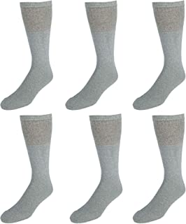 Everlast Men's 6PK Over The Calf Tube Socks