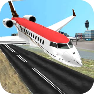 Real City Airplane Flying Pilot 3D Flight Simulator 2018 Free