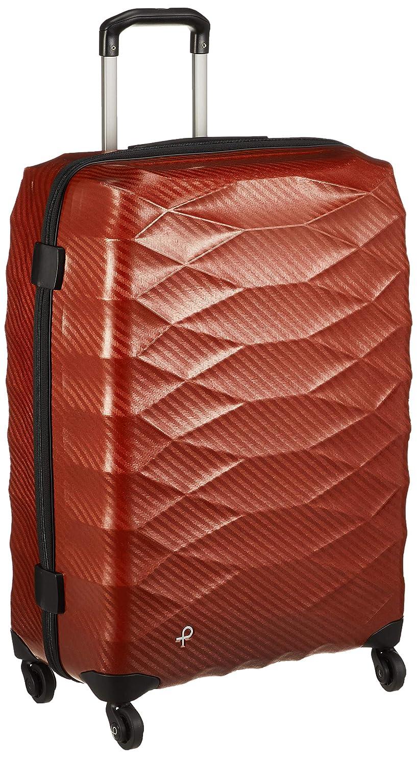 ローズご近所罪悪感[プロテカ] スーツケース 日本製 エアロフレックスライト 3年保証付 サイレントキャスター 不可 保証付 74L 63 cm 2.4kg