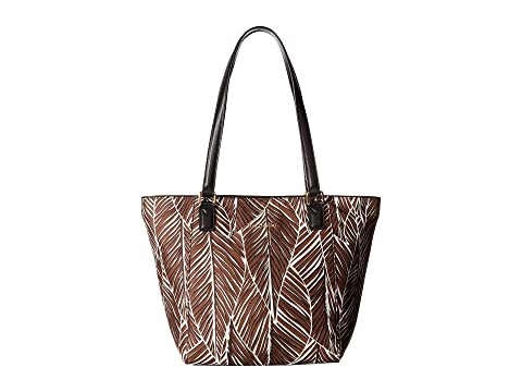 Preppy Poly Small Ella Tote, Black Vera Bradley
