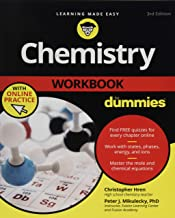 Chemistry Workbook for Dummies 3E + Online Practice