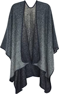 Capes JumpersCardigans Amazon Knitted Ponchosamp; co ukBlue trBQChxds