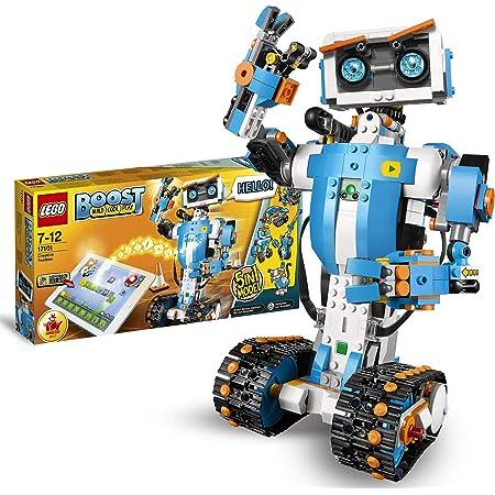 LEGO Boost ToolboxCreativa, Kit di Robotica per Ragazzi, Modello da Costruire5in1Controllato Via App con Robot Giocattolo Interattivo Programmabile e Hub Bluetooth, Set di Codifica, 17101