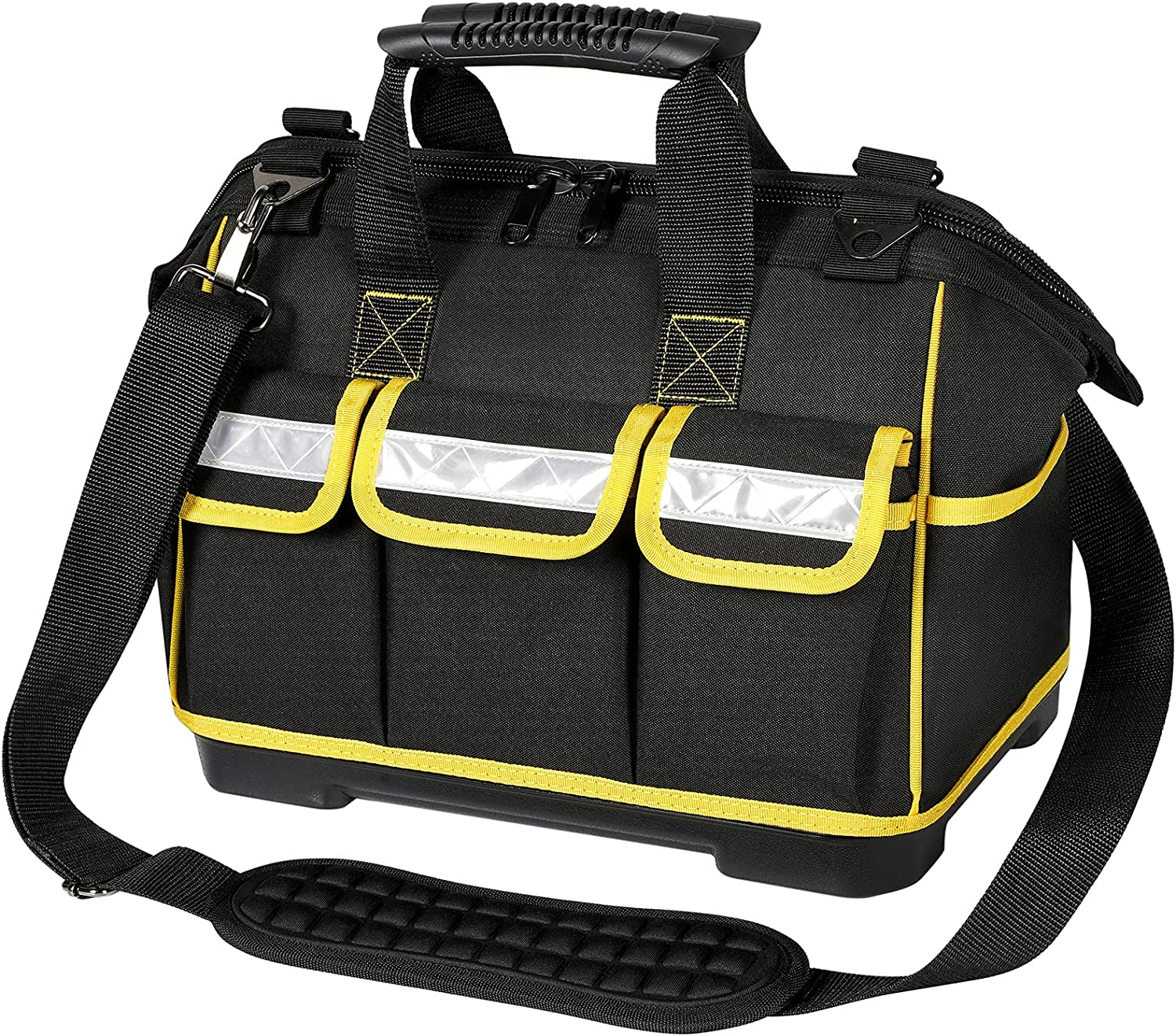 Tool Bag for Men 15 Inch Molde Directly managed store Finally resale start Duty Waterproof Wide Heavy Mouth
