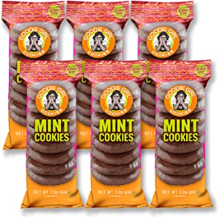 Goodie Girl Cookies, Mint Cookies Gluten Free Cookies, Chocolate Mint Wafer Individually Wrapped Snack Pack Cookies, Peanut Free, Kosher and Gluten Free Cookies (2oz Bags, Pack of 6)