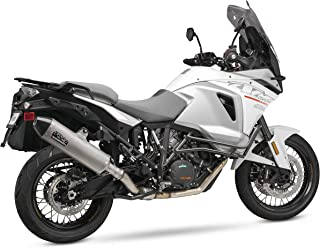 16190BD520 YOSHIMURA Street RS-4 Stainless Slip-on for 2017 KTM 1090 Adventure, 2014-2016 KTM 1190 Adventure, 2015-2017 KTM 1290 Adventure, 16190BD520