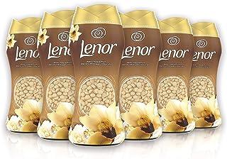 Lenor In-wash geurbooster, 6 x 210 g, Gouden Orchidee, maxi-formaat, geurbooster voor een explosie van frisheid, 100% gere...