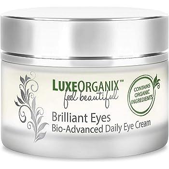Amazon Com Luxeorganix Natural Under Eye Cream For Dark Circles