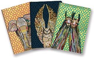 Studio Oh! Notebook Trio with Three Coordinating Designs Available in 12 Bundles, Eli Halpin Majestic Animals