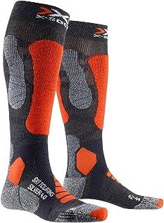 X-Socks, Ski Touring Silver 4.0 Calcetines De Invierno Calcetines De Esquí Hombre
