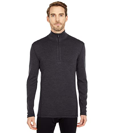 Smartwool Merino 250 Base Layer 1/4 Zip (Charcoal Heather) Men